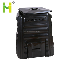 220L HDPE garden use plastic collapsible compost bins