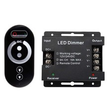Hot sale 0-10v 433mhz wireless rf remote programmable led dimmer controller