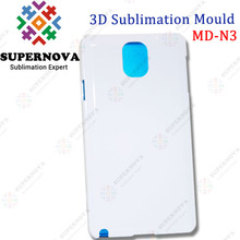 3D Sublimation Mobile Phone Case Mould for Samsung Galaxy NOTE3