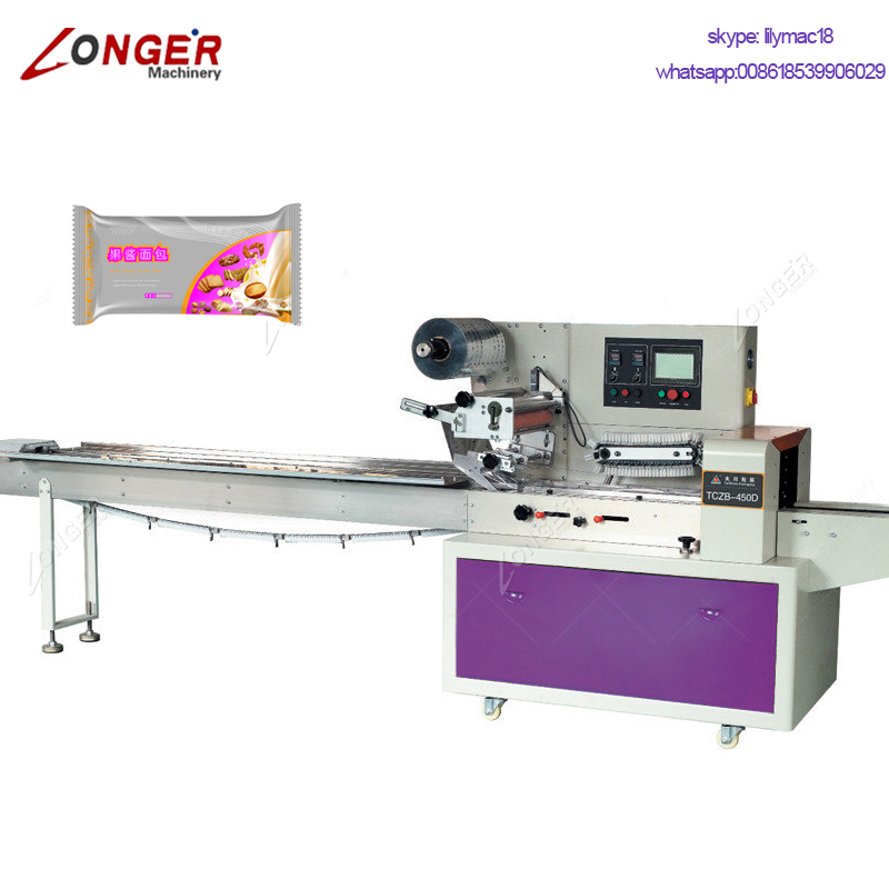 Factory Supply Hffs Kale Medical Mop Packing Equipment Crayfish Frozen Donuts Pizza Candy Lollipop Packaging Machine