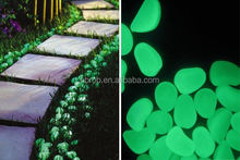 Garden glow in the dark stones