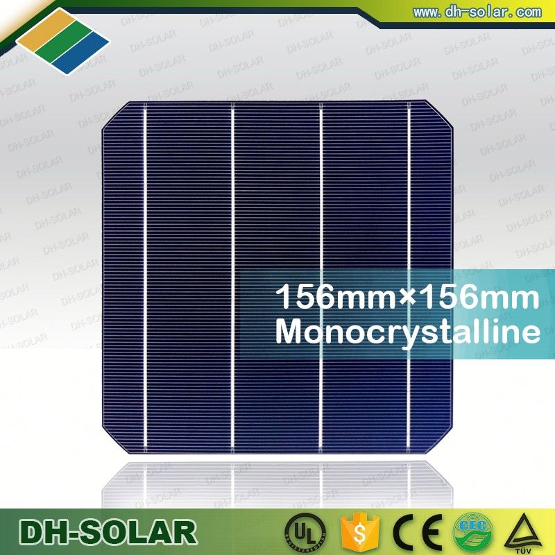 Dog bone and sun power mono photovoltaic solar cell for sale