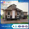 Prefabricated export prefab container house villa in good price