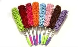 Chenille Cleaning Product with stainless steel handle
