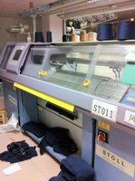 Used Stoll computerized flat knitting machine CMS330TC