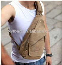 Han edition of canvas bag,men canvas sling bags