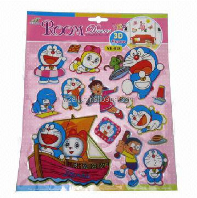 Doraemon decorative puffy sticker