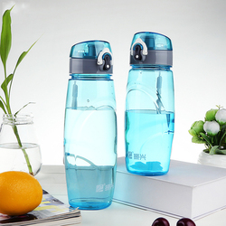 Custom pp clear water bottle plastic gym drinking water bottle manufacturing plastic sport water bottle
