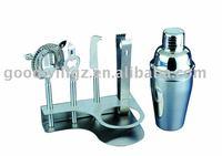 6pc Stainless Steel Barware Set (500ml Shaker)