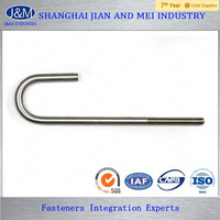 16mm ASTM A307B Sleepers Carbon Steel J Bolt