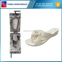 Lady Wedge Slipper Mold PCU Die Casting Moulding Shoe Making Machine