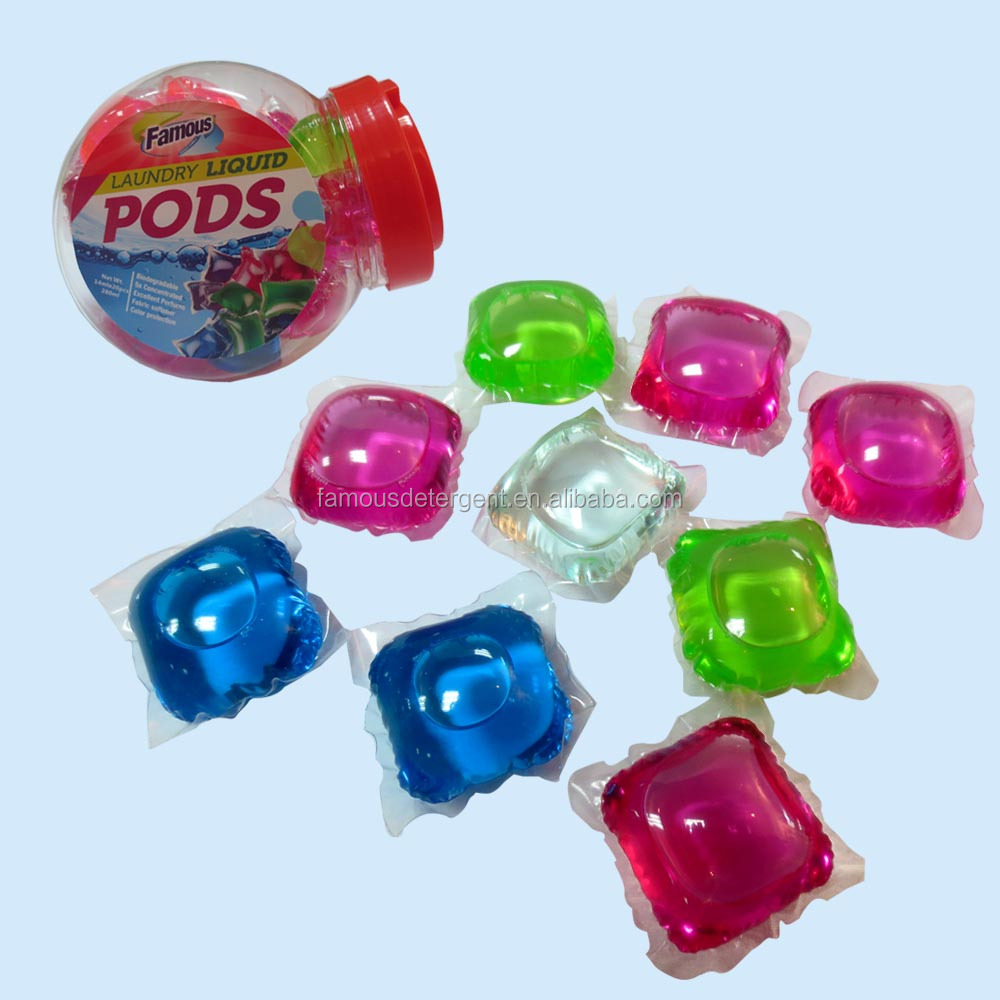 OEM high performance liquid detergent capsules and laundry pods