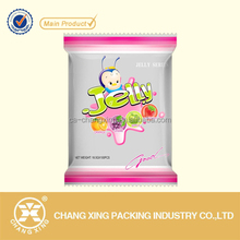 Jelly candy flat pouch packaging bag airtight packaging bag
