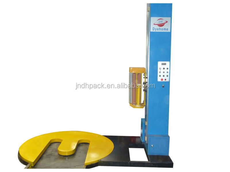 M-pallet wrapping machine