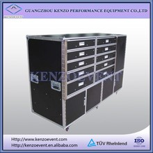 Cosmetic Flight Cases With drawers side table