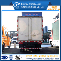 Cheap 20 cubic meters refrigerated standby electric unit truck sale