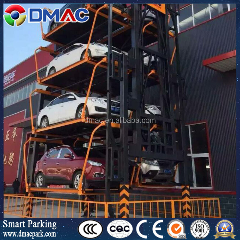 2017 Independent rotary car parking system