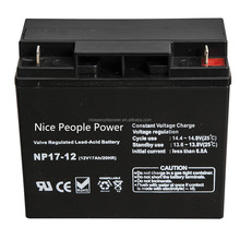 payment O/A L/C B/L D/C available 12v 17ah battery for store electricity