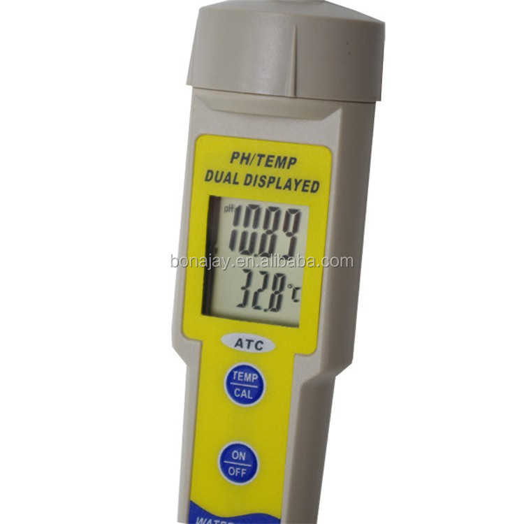 PH Meter Digital PH Test Pen Type Thermometer Water Quality Detector PH Meters For Aquariums Swimming Pool Laboratory Hydroponic