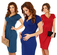 z89298A sexy pregnant women summer dresses casual dress maternity clothing wears