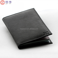 European Women Travel Leather Passport Holder Cover Wallet Card Case