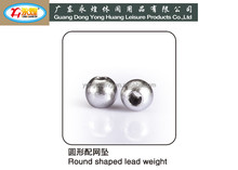 round shaped lead sinker for fishing net lead weight for fishing