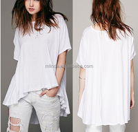 newest design blank white bulk 100 cotton t-shirts for women, blank white bulk cotton t-shirts