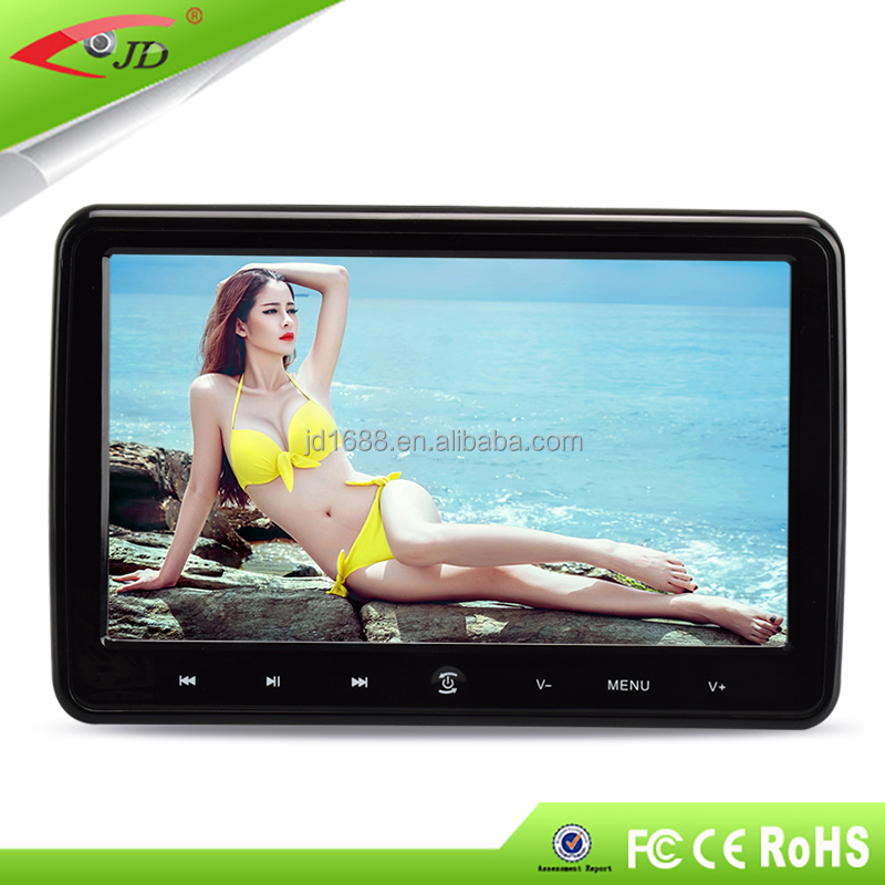 removable 10.1'' HDMI Input car dvd player headrest with sony loader
