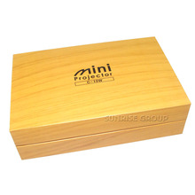 Custom Size Cardboard Gift Packaging Faux Wooden Paper Box for Cosmetic