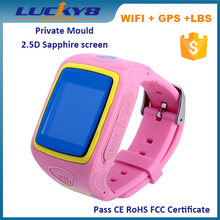Private Mould Kids GPS Watch, Wrist Watch GPS Tracking Device for Kids , SOS Kids GPS Watch Phone