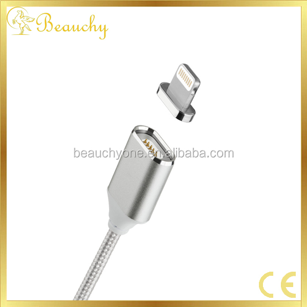 Free sample China wholesale OEM Custom Micro 2 in 1 Cabel USB Phone Charging Data Transmission Magnetic USB Cable
