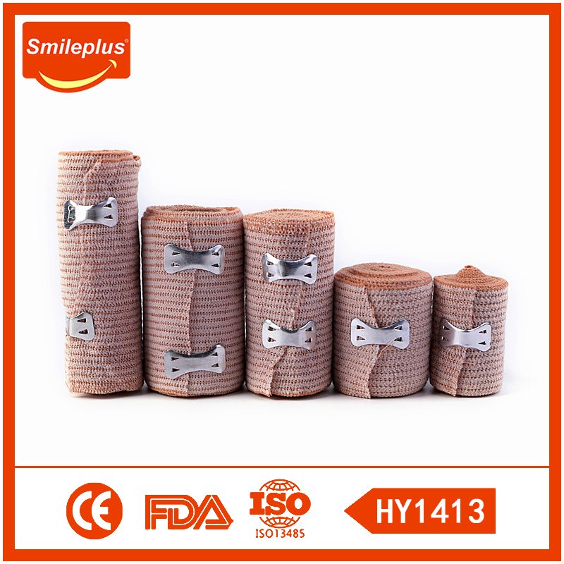 Pharmacy and Supermarket Hot Sale Medical Cotton Rubber Bandage