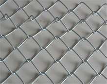 diamond razor wire mesh fence pvc coated plastic chain link fence panels for USA market