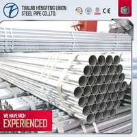 HIGH QUALITY ROUND HOLLOW SECTION PRE GALVANIZED STEELPIPE