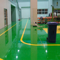 Heavy duty urethane epoxy industrial flooring