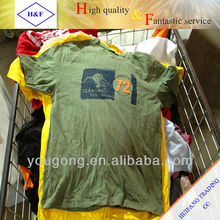 fresh fshion cheap korea used t-shirt
