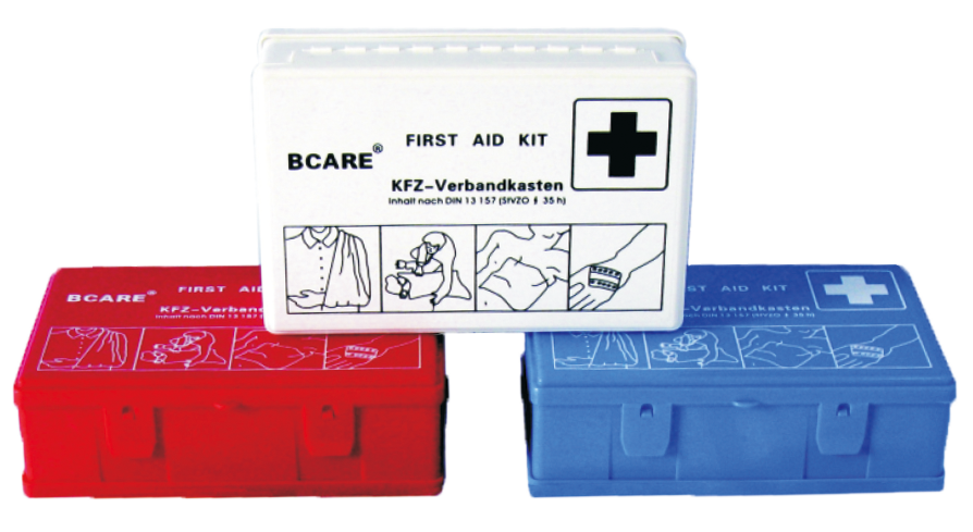 Gauke emergency din first aid kit Emergency medical kits first aid case for car, plastic box