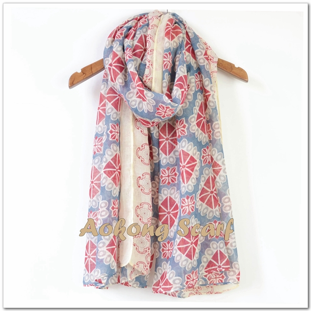 Fashion shawl 2015 antique ladies women scarf china manufacture