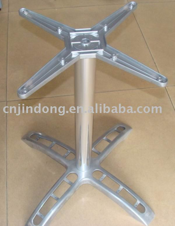 aluminum alloy,polish,spray,electroplate,chrome,restaurant,outdoor table bases for glass tops,wooden,stainless steel