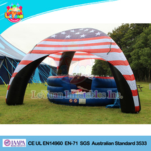 Outdoor inflatable spider eco dome tent/event canopy