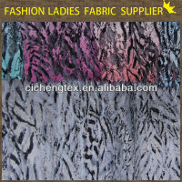 new fashion nylon spandex printed lace fabric wholesale printing mesh scalloped edge lace fabric
