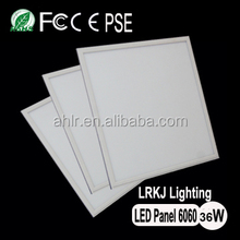 aluminum housing commercial light 60*60 , square shape led panel light 36w CE ROHS listed