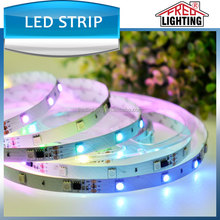 digital led strip smd5050 54leds/m RGB with IC magic led strip light flash changing
