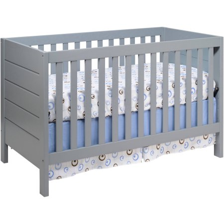 Convertible Cribs High Quality Solid Wooden Baby Cot Desing In Grey Color Baby Cot Bed Prices