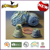 thick acrylic yarn for hand knitting hat for knit pattern for DIY set