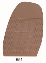 651 Natur Rubber Half Sole For Shoe Repair