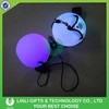 Custom Colorful Light Up Flashing LED Plastic Magic Ball Light For Gifts
