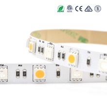 Hot sales RGB+W 5050 60LEDS/M color changing digital led strip light in China