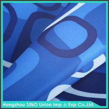Top quality custom design different types of digital printing on 100% polyester textile canvas fabric