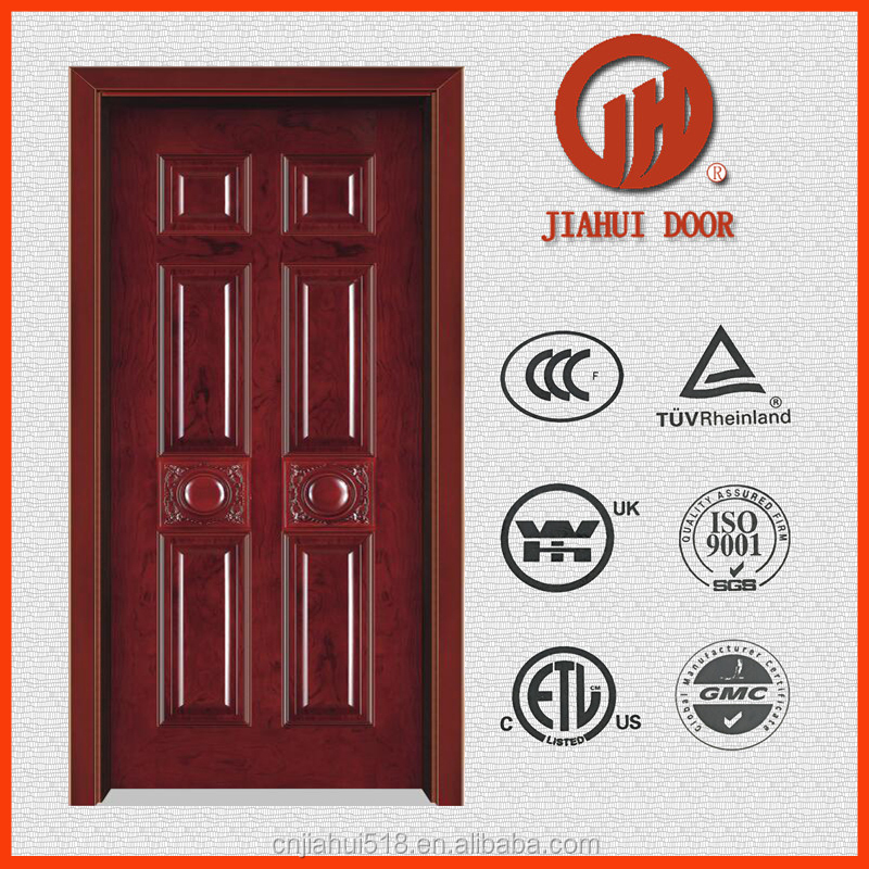 best price new design pvc moulded skin indoor door